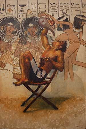Marie Hines Cowan Painting You Pagan